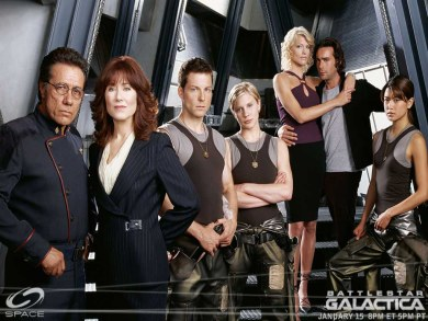 Reparto de Galactica