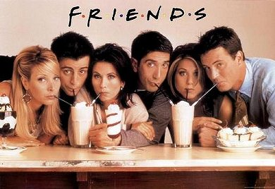El reparto de Friends al completo