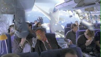 Escena del episodio piloto de Perdidos