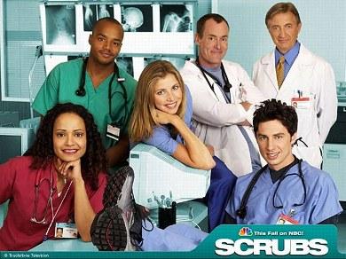El reparto de Scrubs