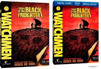 Portadas DVD y Blu-ray de Relatos del Navío Negro