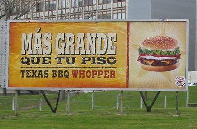 Anuncio Burger King