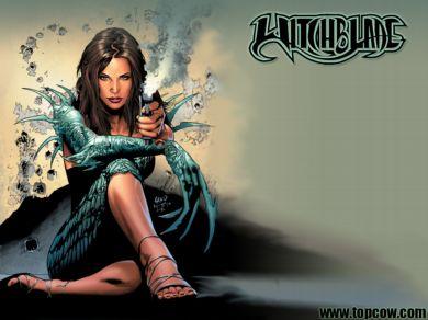 Imagen comiquera de Witchblade