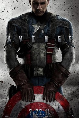 Cartel de Captain America: First Avenger