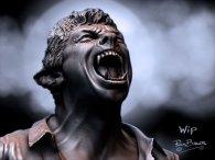 Diseño conceptual de The Wolfman #3