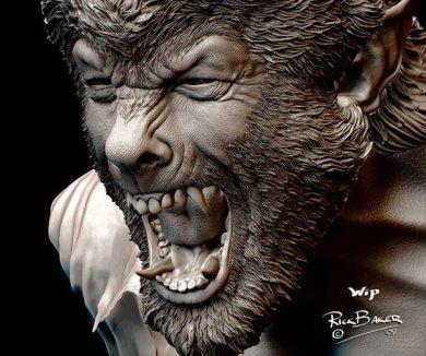 Diseño conceptual de The Wolfman #5