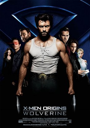 Cartel de X-Men Origins: Wolverine