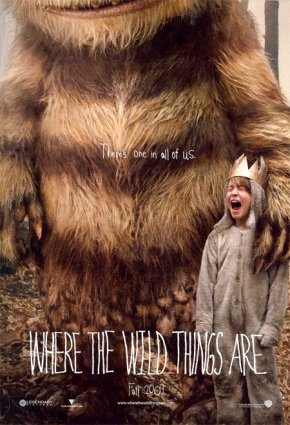 Cartel de Where the Wild Things Are