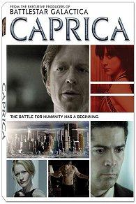 Carátula DVD piloto de Caprica