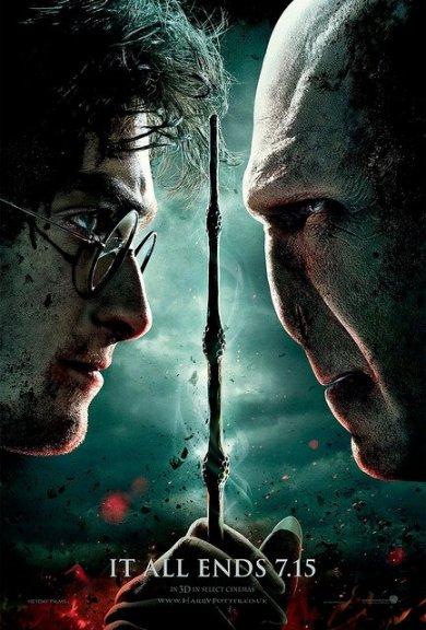 Cartel de Harry Potter y las reliquias de la muerte, parte 2