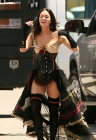 Megan Fox en Jonah Hex #1