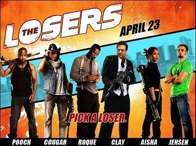 Cartel de The Losers #3