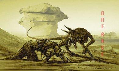 Arte conceptual de Riddick