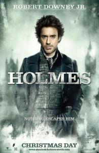 Cartel Sherlock Holmes - Robert Downey Jr.