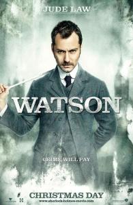 Cartel Sherlock Holmes - Jude Law