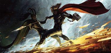 Arte conceptual de Thor