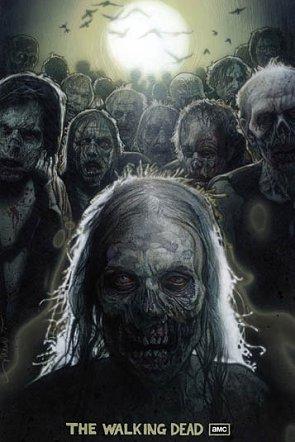 Cartel de Los Muertos Viviente firmado por Drew Struzan