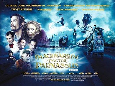 Cartel de El Imaginario del Dr. Parnassus