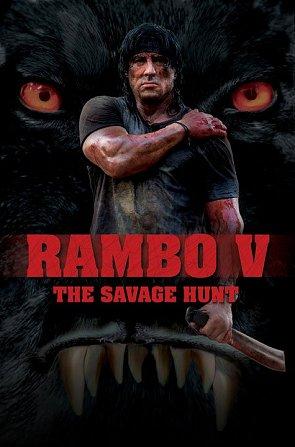 Cartel provisional de Rambo V