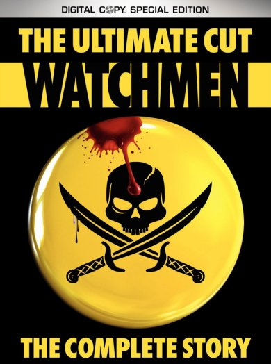 Cubierta del DVD de Watchmen: The Ultimate Cut
