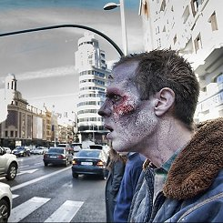 Invasión zombie en Madrid #3
