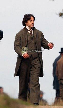 Rodaje de Sherlock Holmes 2 #1
