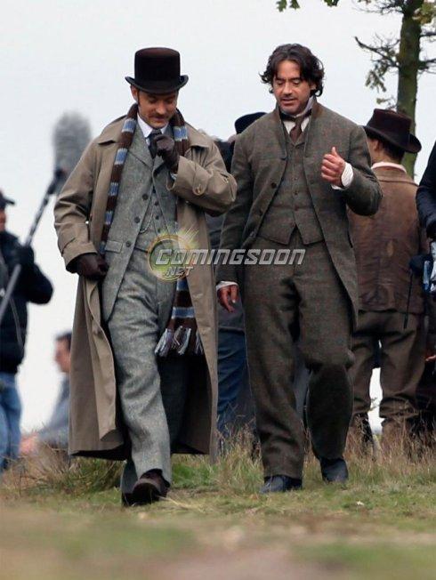 Rodaje de Sherlock Holmes 2 #5
