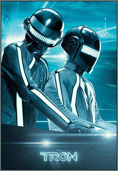 Daft Punk se cuelan en TRON: Legacy