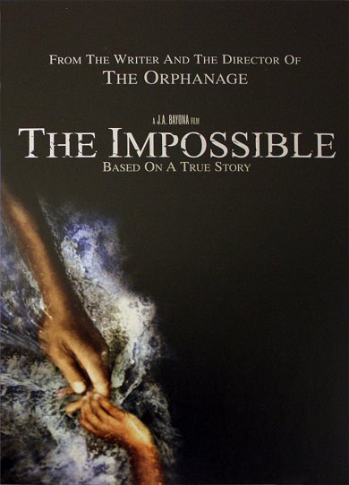 Cartel teaser de The Impossible