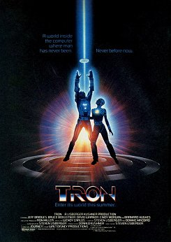 Cartel original de TRON