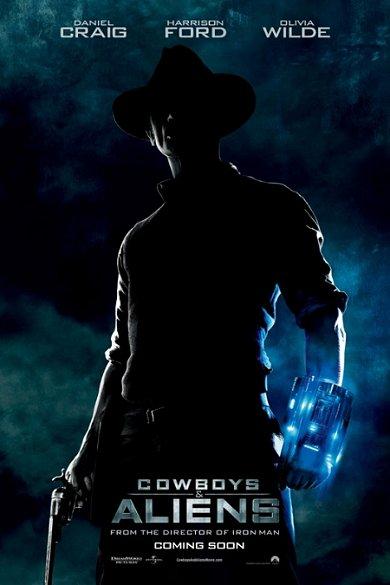Cartel de Cowboys & Aliens