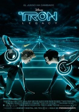 Cartel español de TRON: Legacy