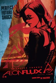 Cartel #1 de Aeon Flux