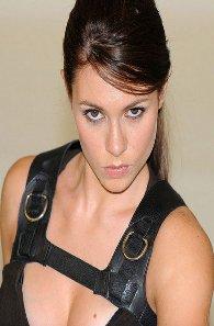 Alison Carroll como Lara Croft #3