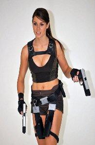 Alison Carroll como Lara Croft #5