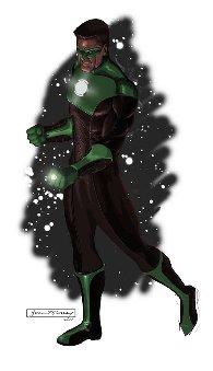 Arte conceptual de Green Lantern #4
