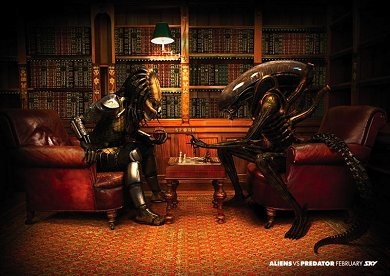 Anuncio Sky TV Aliens Vs. Predator #1