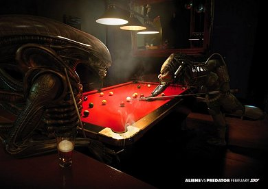 Anuncio Sky TV Aliens Vs. Predator #2