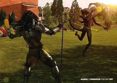 Anuncio Sky TV Aliens Vs. Predator #3
