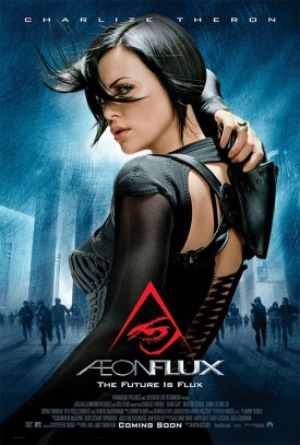 Cartel de Aeon Flux
