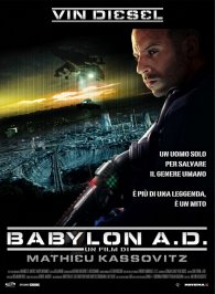 Cartel italiano de Babylon A.D.