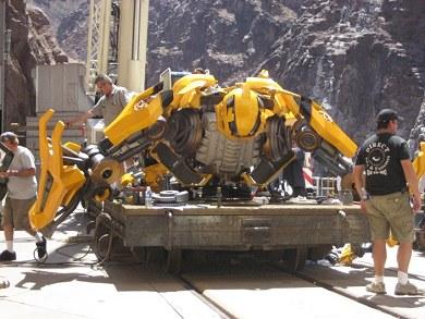 El Bumblebee de Transformers