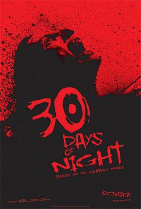Cartel de 30 Días de Noche