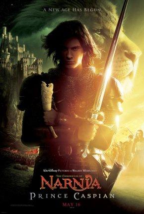 Cartel de Las Crónicas de Narnia: El Príncipe Caspian