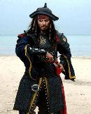 Johnny Depp en Piratas del Caribe 3 #3