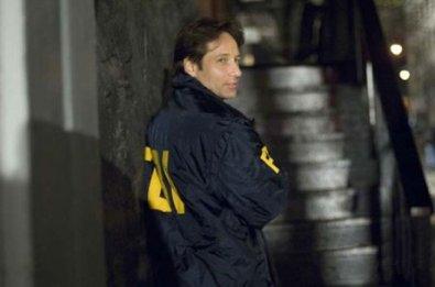 David Duchovny como Fox Mulder e el rodaje de X-Files 2