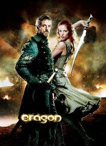Cartel Eragon - Brom y Arya