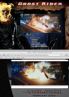 Escena de Ghost Rider en The International