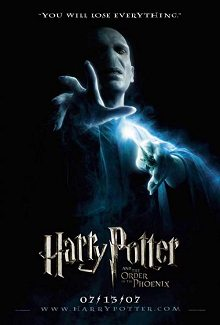 Cartel Harry Potter y La Orden del Fénix