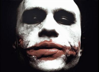 Heath Ledger como Joker